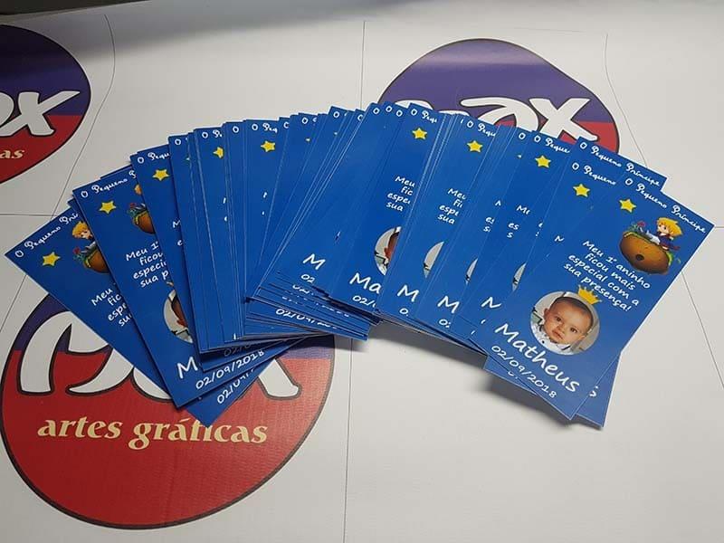 Gráfica para impressão de flyers
