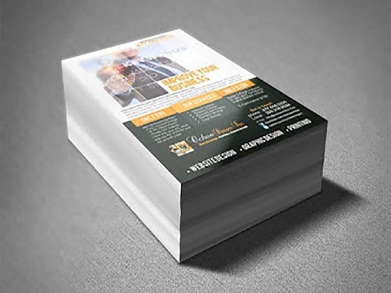 Gráfica para impressão de panfletos